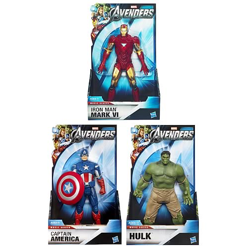 Avengers Movie 8-Inch Hero Action Figures Wave 2 Revision 2