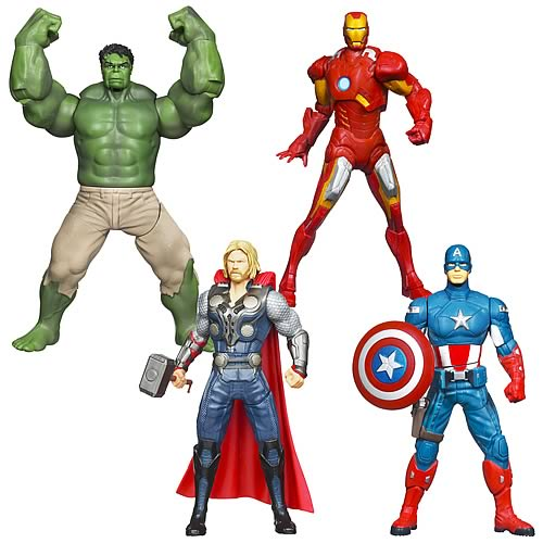 Avengers Movie Mighty Battlers Action Figures Wave 1