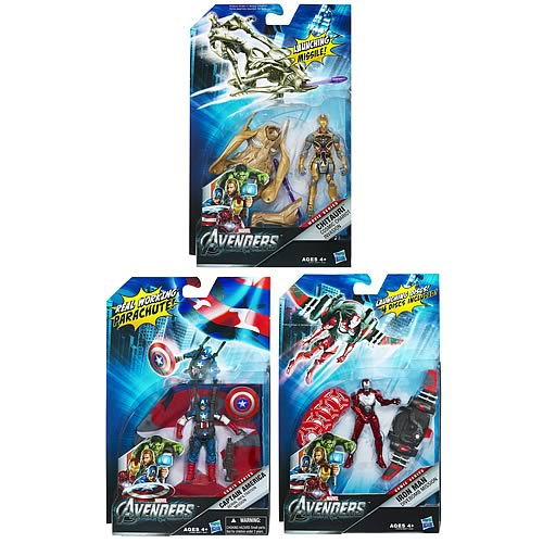 Avengers Movie Mission Packs Action Figures Wave 2