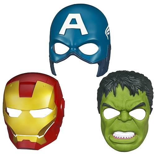 Avengers Movie Hero Masks Wave 2 Set