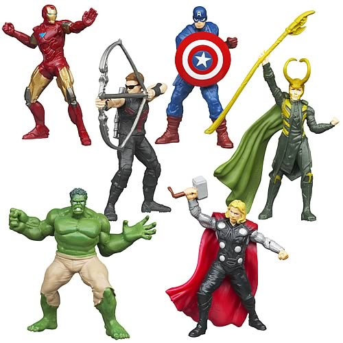 Avengers Movie EC Mini-Figures Wave 1
