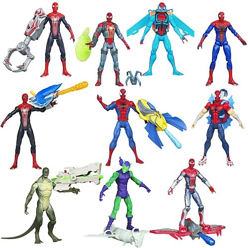 Amazing Spider-Man Movie Mission Action Figures Wave 3 Rev 2