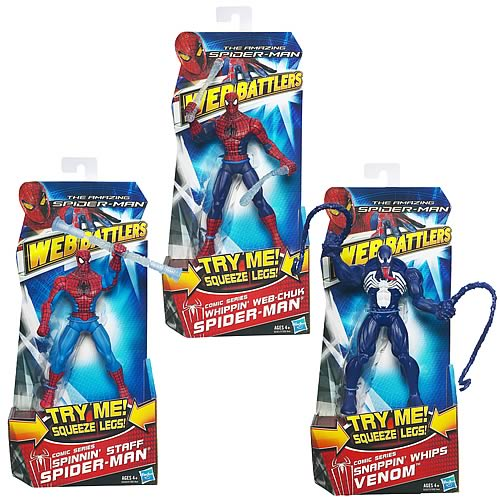 Amazing Spider-Man Web Battlers Action Figures Wave 2