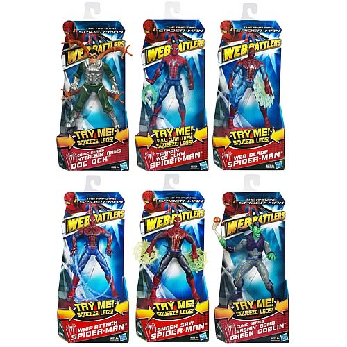 Amazing Spider-Man Web Battlers Action Figures Wave 3