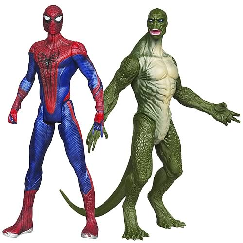 All New Amazing Spiderman Figurines