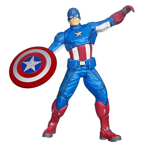 Avengers Movie Ultra Strike Captain America Action Figure