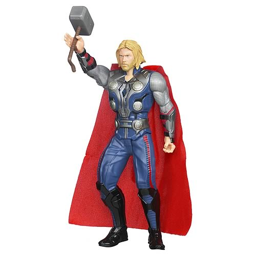 Avengers Movie Mighty Strike Thor Action Figure