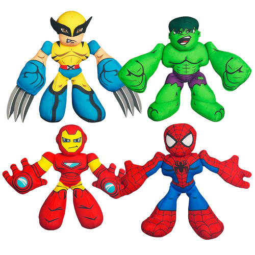 Marvel Super Hero Squad Mini-Plush Wave 1 Case