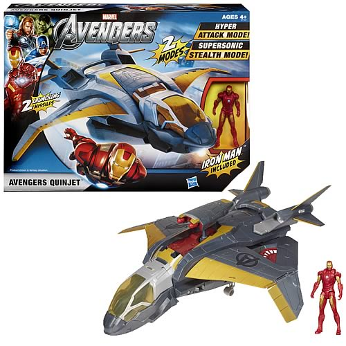 Avengers Quinjet Vehicle