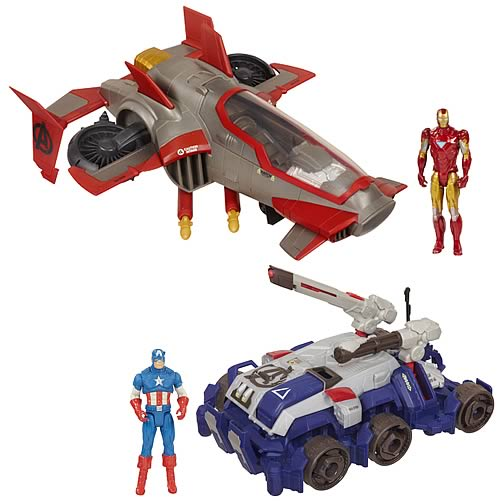 Avengers Movie Stark Tek Battle Vehicles Wave 1