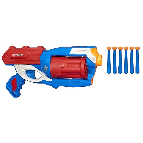 Avengers Movie Captain America Brigade Dart Blaster