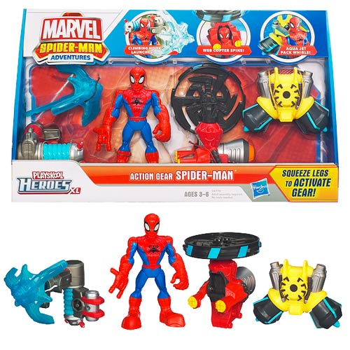 Spider-Man Adventures Action Gear Figure