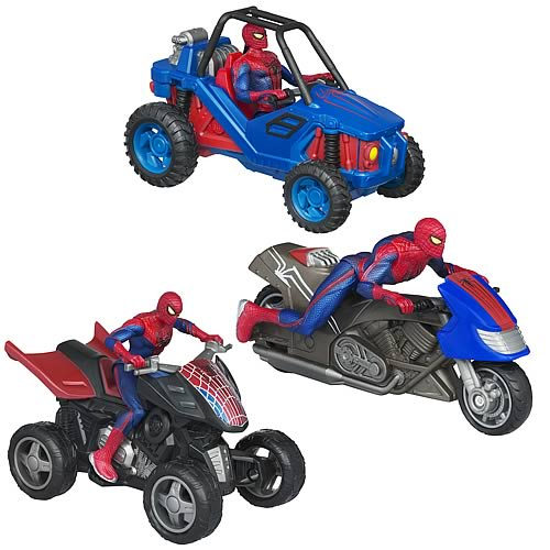 Amazing Spider-Man Zoom N Go Vehicles Wave 1