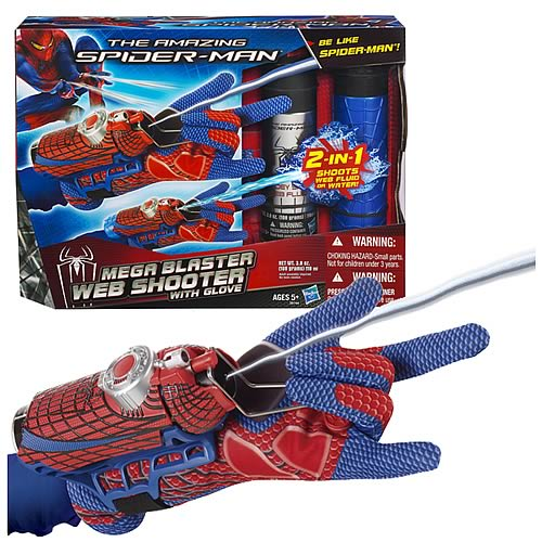 Amazing Spider-Man Mega-Blaster Web Shooter