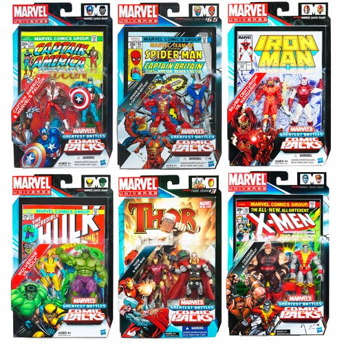 Marvel Universe Figures Comic Packs Battles Wave 2 Rev. 2