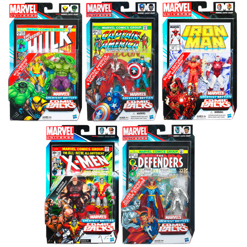Marvel Universe Figures Comic Packs Battles Wave 2 Rev. 3