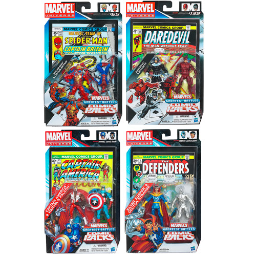 Marvel Universe Figures Comic Packs Battles Wave 2 Rev. 4
