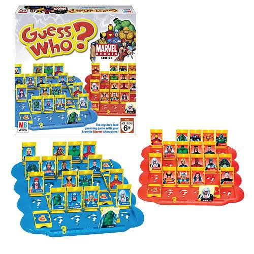 Marvel Heroes Edition Guess Who Game