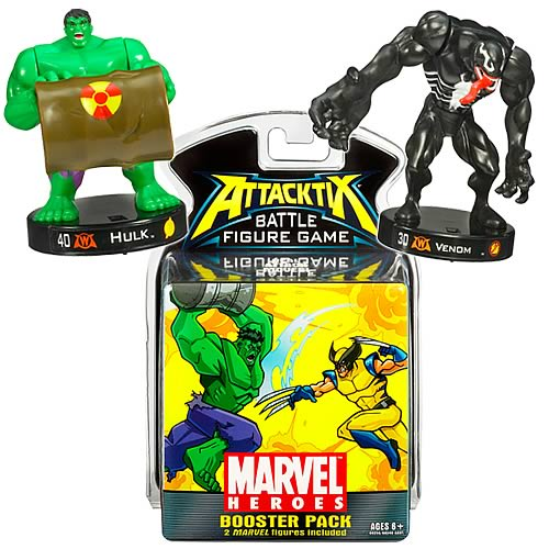 Marvel Attacktix Booster Pack Series 1 3-Pack