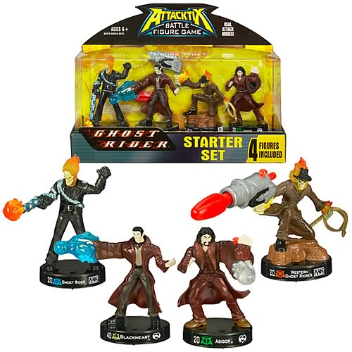 Marvel Universe Attacktix Starter Set Wave 1 Revision 1