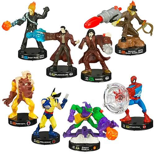 Marvel Universe Attacktix Starter Set Wave 1