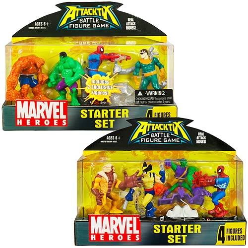 Marvel Universe Attacktix Starter Set Wave 2