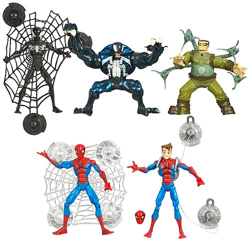 Spectacular Spider-Man Animated Action Figures Wave 1