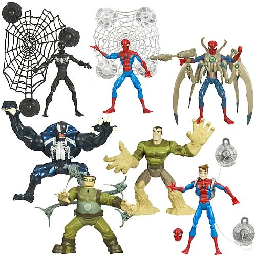 Spectacular Spider-Man Animated Action Figures Wave 2