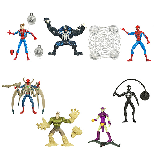 Spectacular Spider-Man Animated Action Figures Wave 3
