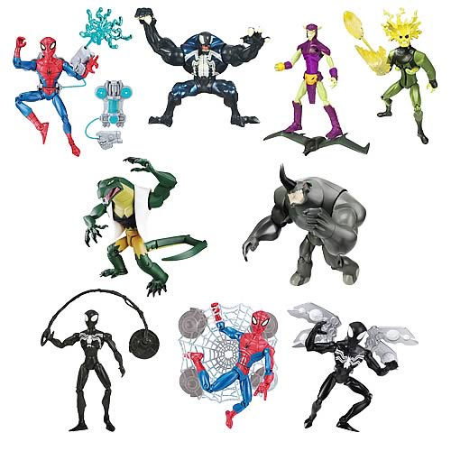 Spectacular Spider-Man Animated Action Figures Wave 4 Rev. 1