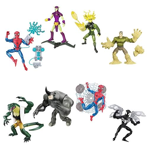 Spectacular Spider-Man Animated Action Figures Wave 4