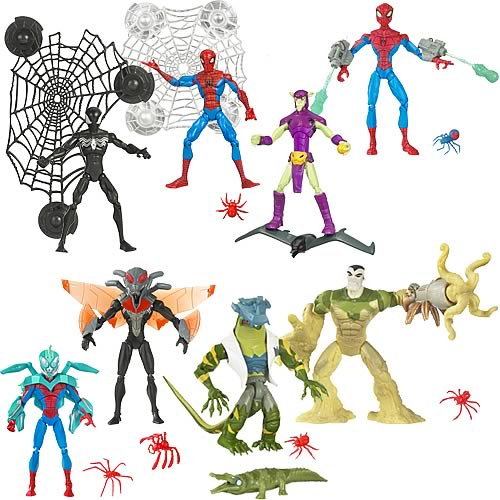 Spectacular Spider-Man Animated Action Figures Wave 5