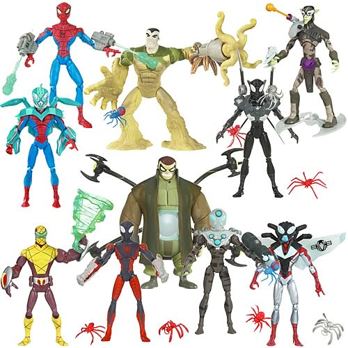 Spectacular Spider-Man Animated Action Figures Wave 7