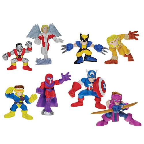 Marvel Heroes Superhero Squad Wave 1 Set