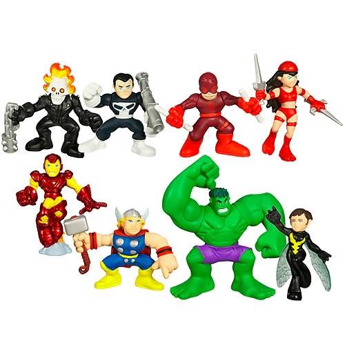 Marvel Heroes Superhero Squad Wave 2 Set
