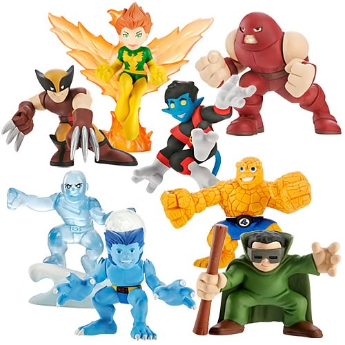 Marvel Heroes Superhero Squad Wave 4 Set