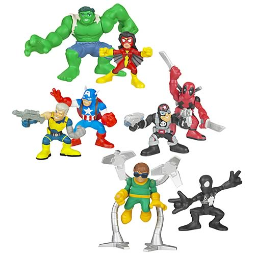 Marvel Heroes Superhero Squad Wave 6 Set