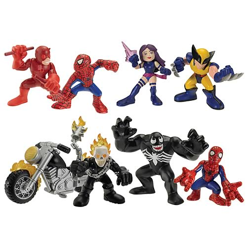 Marvel Heroes Superhero Squad Wave 7 Set