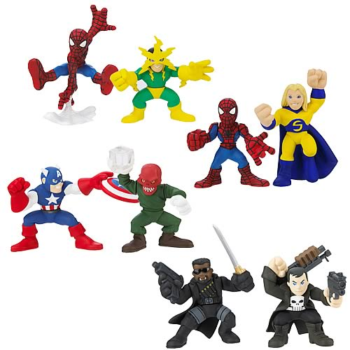 Marvel Heroes Superhero Squad Wave 9 Set