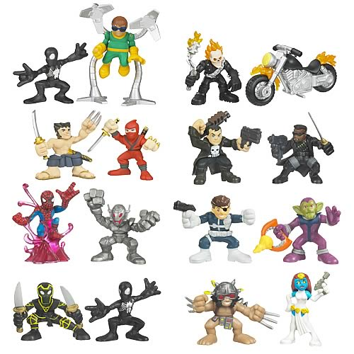 Marvel Heroes Superhero Squad Wave 10 Revision 1