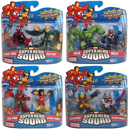 Marvel Heroes Superhero Squad Wave 15