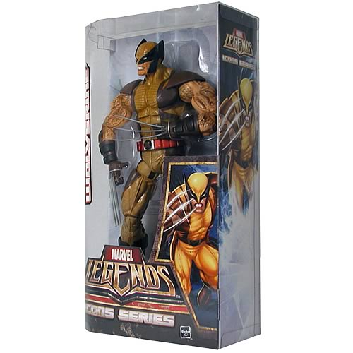 Marvel Legends Icons X-Men Wolverine 12-Inch Action Figure