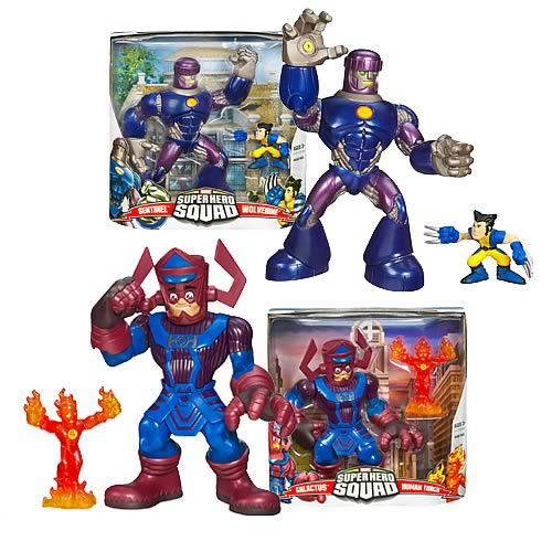 Marvel Heroes Superhero Squad Mega Pack Wave 1