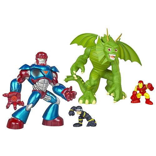 Marvel Heroes Superhero Squad Mega Pack Wave 4