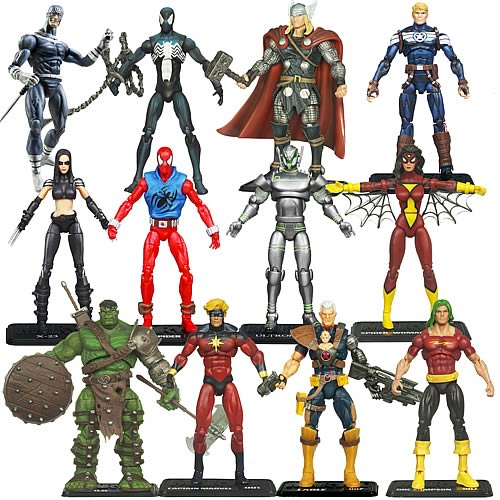 Marvel Universe Action Figures Wave 15 Revision 2