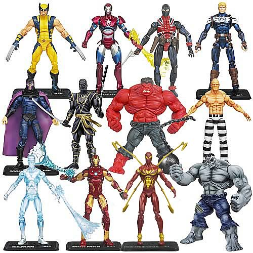 Marvel Universe Action Figures Wave 17 Revision 1