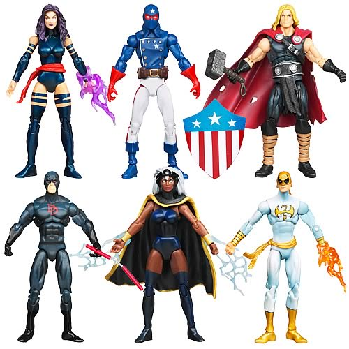 Marvel Universe Action Figures Wave 17