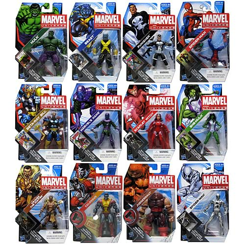 Marvel Universe Action Figures Wave 19 Revision 1