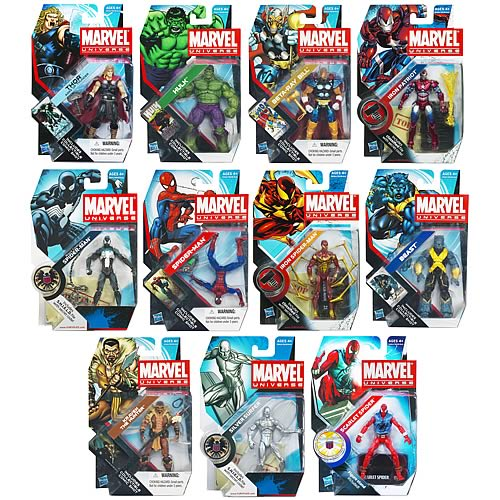 Marvel Universe Action Figures Wave 19 Revision 2