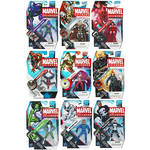 Marvel Universe Action Figures Wave 19